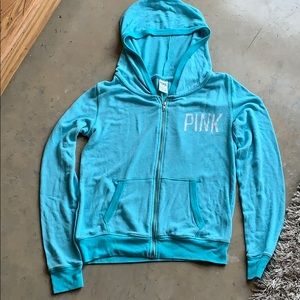 Teal Pajama Hoodie by Victoria's Secret PINK
